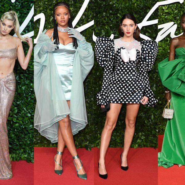 Winnie Harlow / Elsa Hosk / Rihanna / Iris Law / Adut Akech / Shailene Woodley