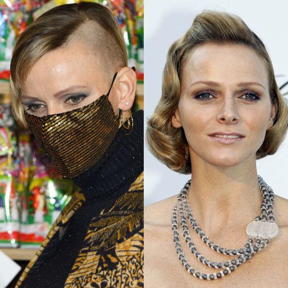 モナコのシャルレーヌ公妃のヘアメイク遍歴