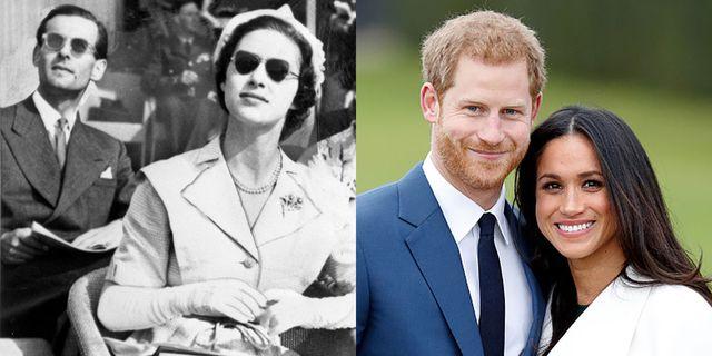 マーガレット王女夫妻とヘンリー王子夫妻