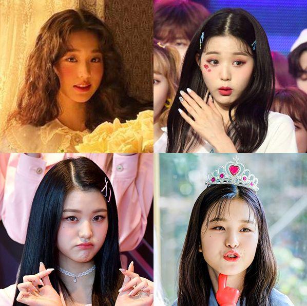 izone アイズワン チャン・ウォニョン ウォニョン アイドル 韓国 かわいい マンネ ジャイアント・ベイビー