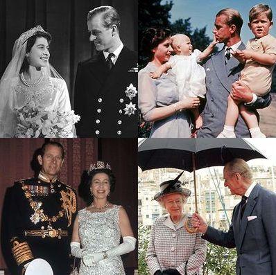 エリザベス女王 フィリップ殿下 フィリップ王配 思い出 アルバム ギャラリー 回想 回顧 結婚生活 夫婦 夫妻 仲良し ロイヤルファミリー 英王室