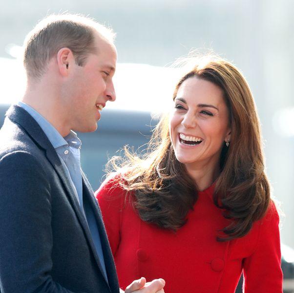 ウィリアム王子とキャサリン妃の愛と笑いのモーメント