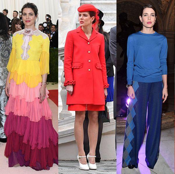 シャルロット・カシラギ モナコ プリンセス ロイヤル ファッション おしゃれ 着こなし ドレス