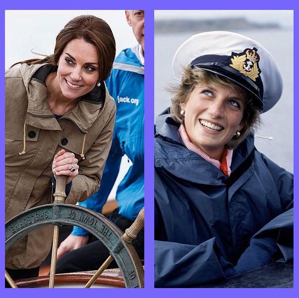 ロイヤルファミリー ボート 船 海 キャサリン妃 ダイアナ妃 エリザベス女王 ウィリアム王子 メーガン妃 ヘンリー王子 アン王女 チャールズ皇太子