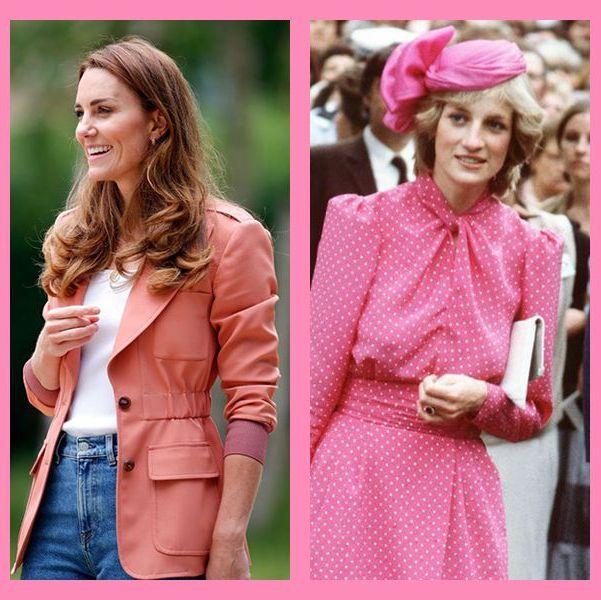 ロイヤルファミリー ロイヤル ピンク ファッション 着こなし おしゃれ