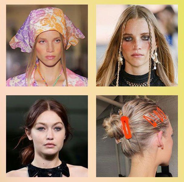 2022春夏髮型流行趨勢!12款「中分、長直髮與髮夾」復古造型回歸