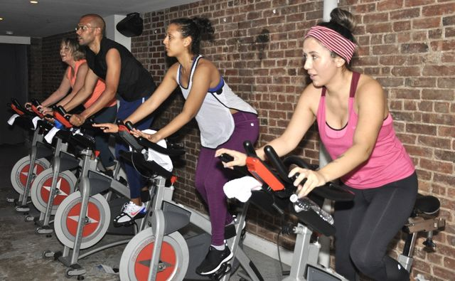 harlem cycle competitors when the gym was open