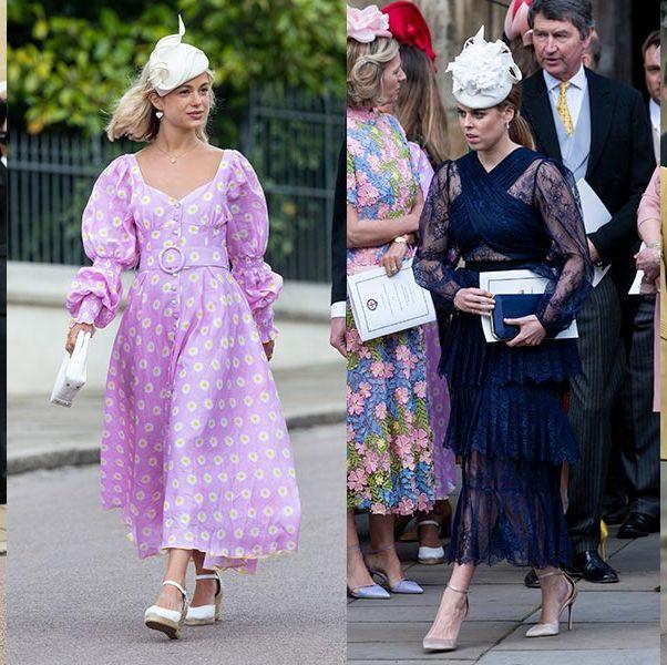 e3106a40d6c87 ロイヤルファミリーが集結! レディ・ガブリエラ・ウィンザーの結婚式でゲストのファッションスナップ
