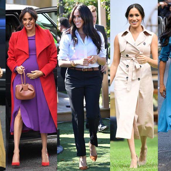 メーガン妃、ファッション、2019、シャツドレス