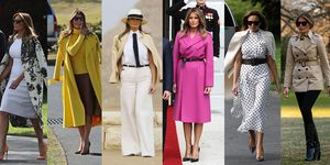 melania trump, fashion
