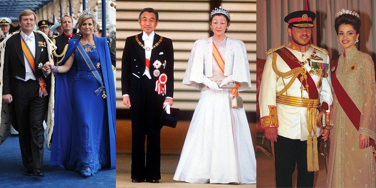 レティシア王妃やラーニア王妃他、世界の女王&王妃の即位式