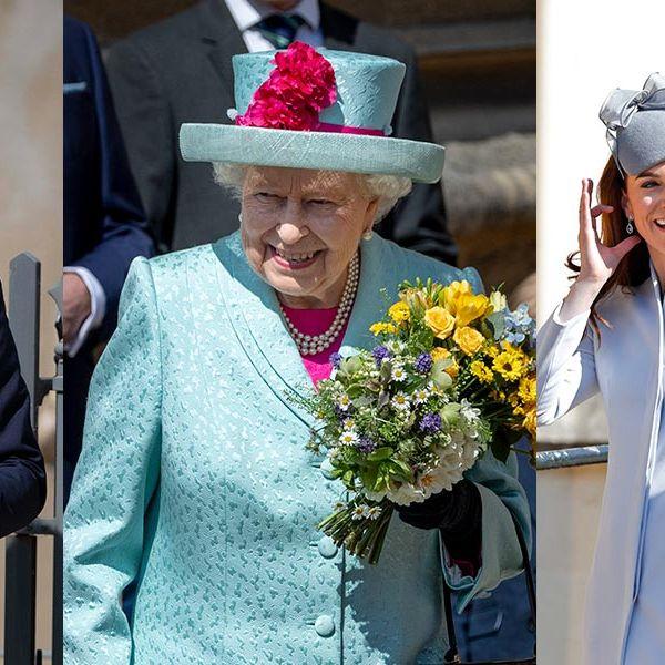 Royal Family, Catherine Duchess of Cambridge, Easter Sunday
