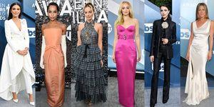 1月19日(現地時間)、第26回SAGアワード(全米映画俳優組合賞)授賞式がロサンゼルスのシュライン・オーディトリアムで開催され、豪華セレブがレッドカーペットに集結。