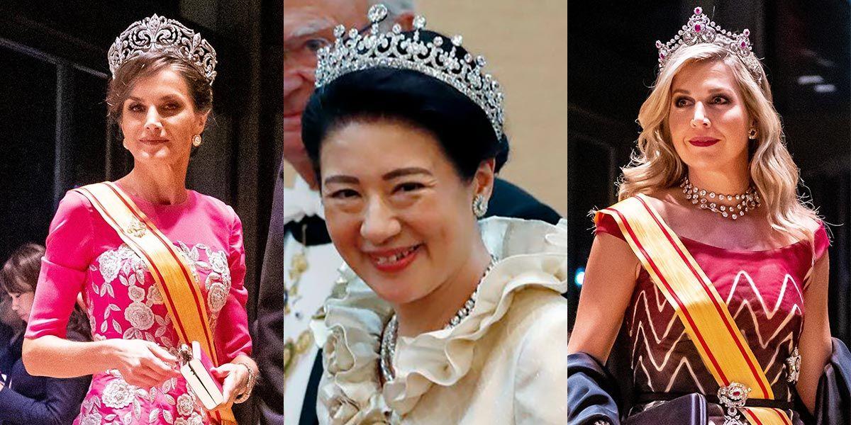 皇后雅子さまは「第一ティアラ」! 即位の礼で披露された、各国