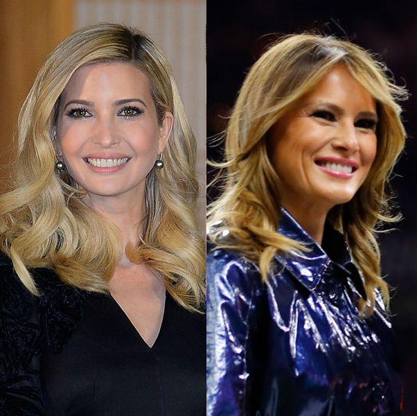トランプ大統領を支えた2人の美女、メラニア&イヴァンカのヘアメイクをプレイバック!