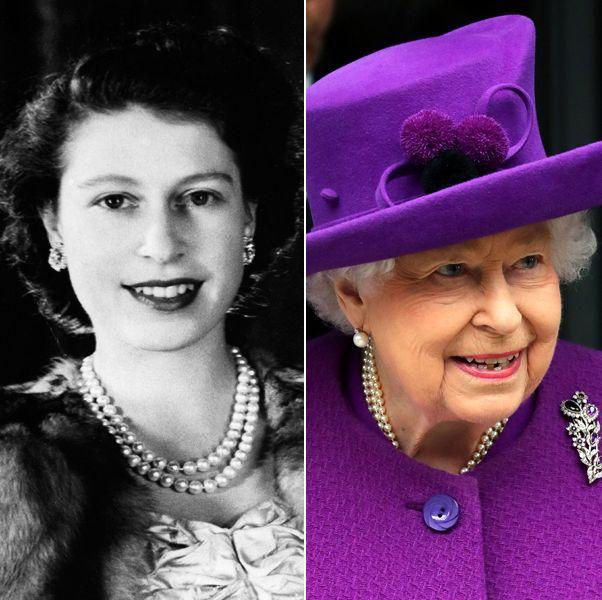 エリザベス女王の美貌遍歴