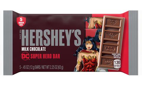 wonder woman chocolate bar