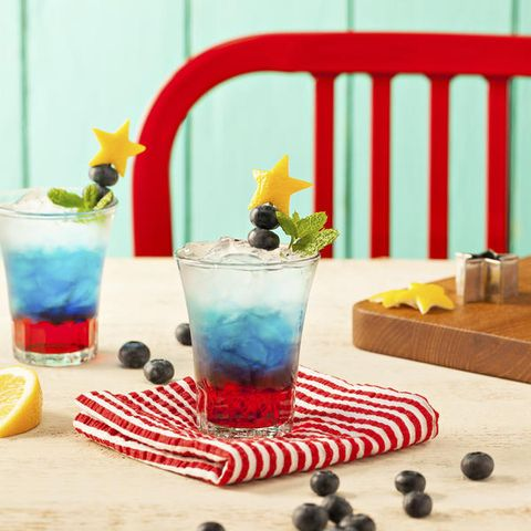 Best Election Night Cocktails Red White And Blue Cocktail Recipes