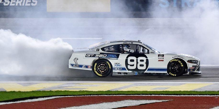 Chase Briscoe wins Sunday night NASCAR Xfinity race at Las Vegas