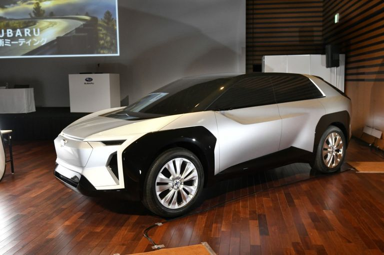 Subaru EV Concept Looks like a Crosstrek Cybertruck