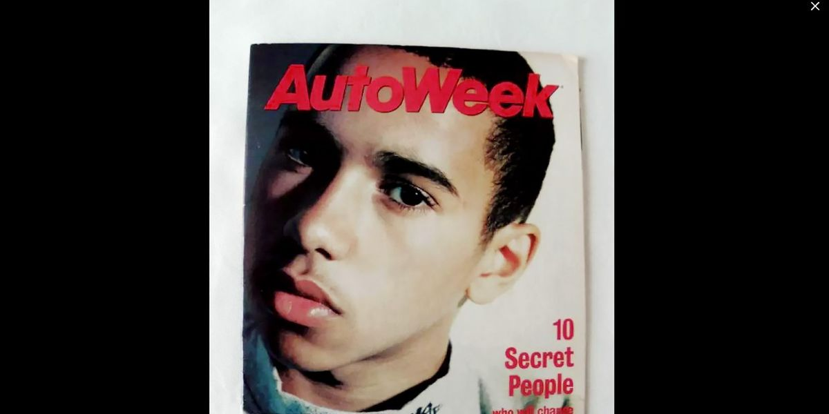 Lewis Hamilton's Thoughts on Racing... at Age 13