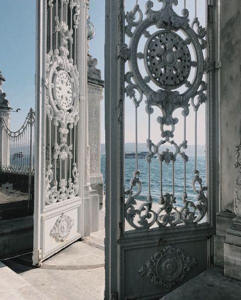 Iron, Metal, Door, Architecture, Gate, Facade, Home door, Building, Glass,