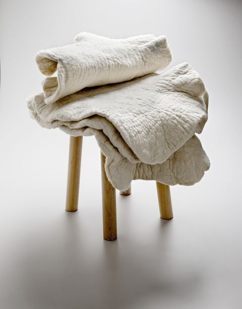 White, Towel, Linens, Textile, Beige, Furniture, Hand, Wool, Table,