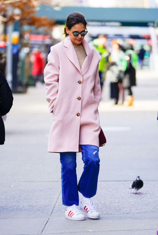 white, street fashion, photograph, clothing, fashion, coat, snapshot, pink, beauty, footwear,