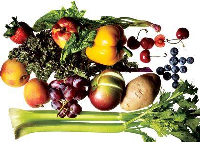 fruits and veggies to buy organic