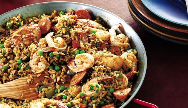 The easiest paella recipes youll ever make easy paella recipes forumfinder Choice Image