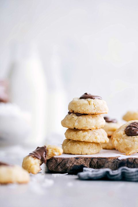 thumbprint cookies coconut