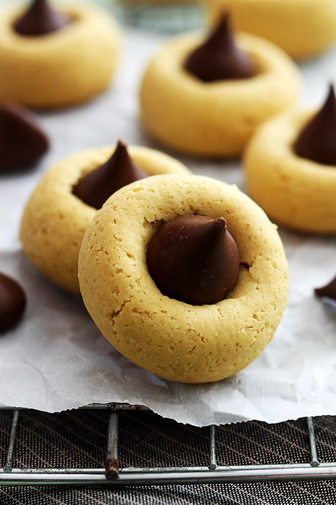 thumbprint cookies pumpkin