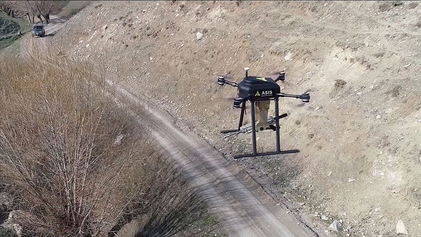 Turkey's New Drone Comes With a Machine Gun