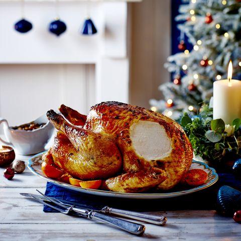 thyme and sherry glazed turkey