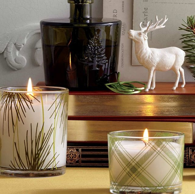 thymes christmas candles