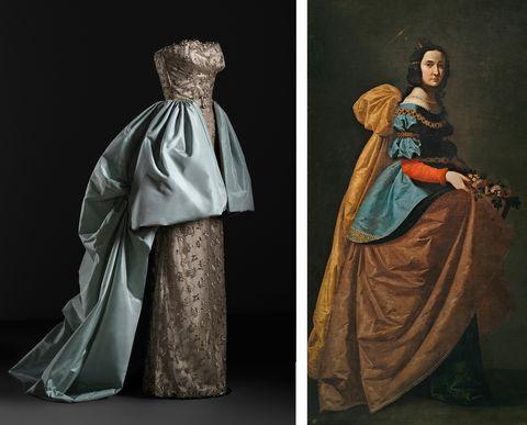 Balenciaga y la pintura española Museo Thyssen-Bornemisza