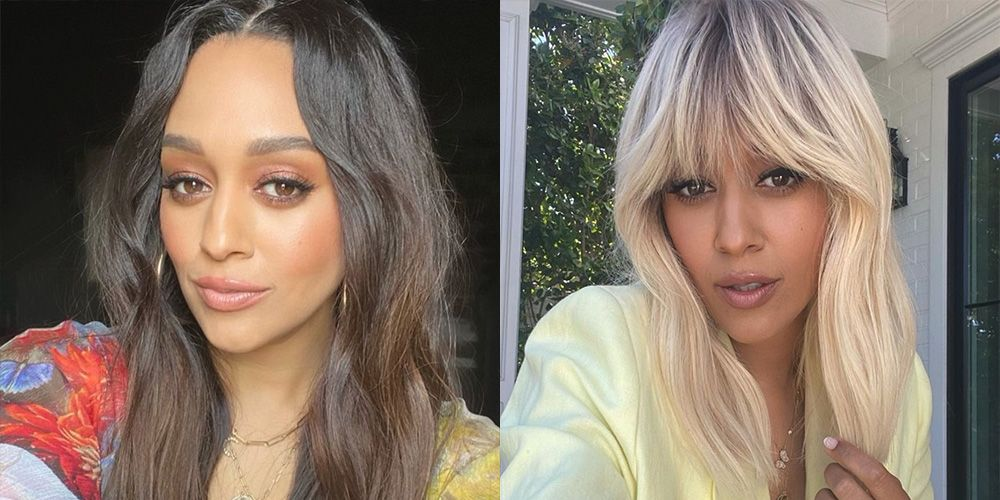 Fans Are Swooning Over Tia Mowry's Major Blonde Hair Transformation on Instagram
