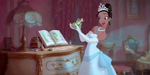 """""""Tiana y el sapo"""", Disney"""