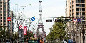 Tianducheng Parigi Cina