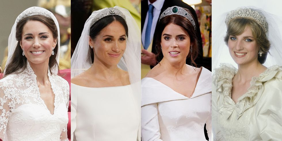 The 24 Most Gorgeous Royal Wedding Tiara Moments of All Time