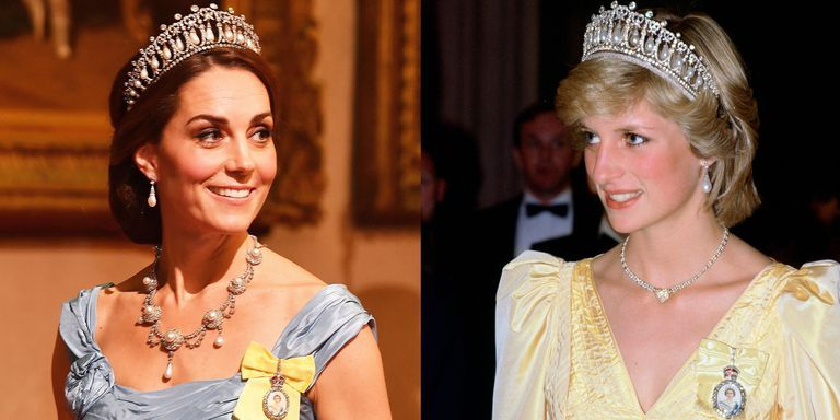 foto Kate Middleton Wears Princess Dianas Lovers Knot Tiara