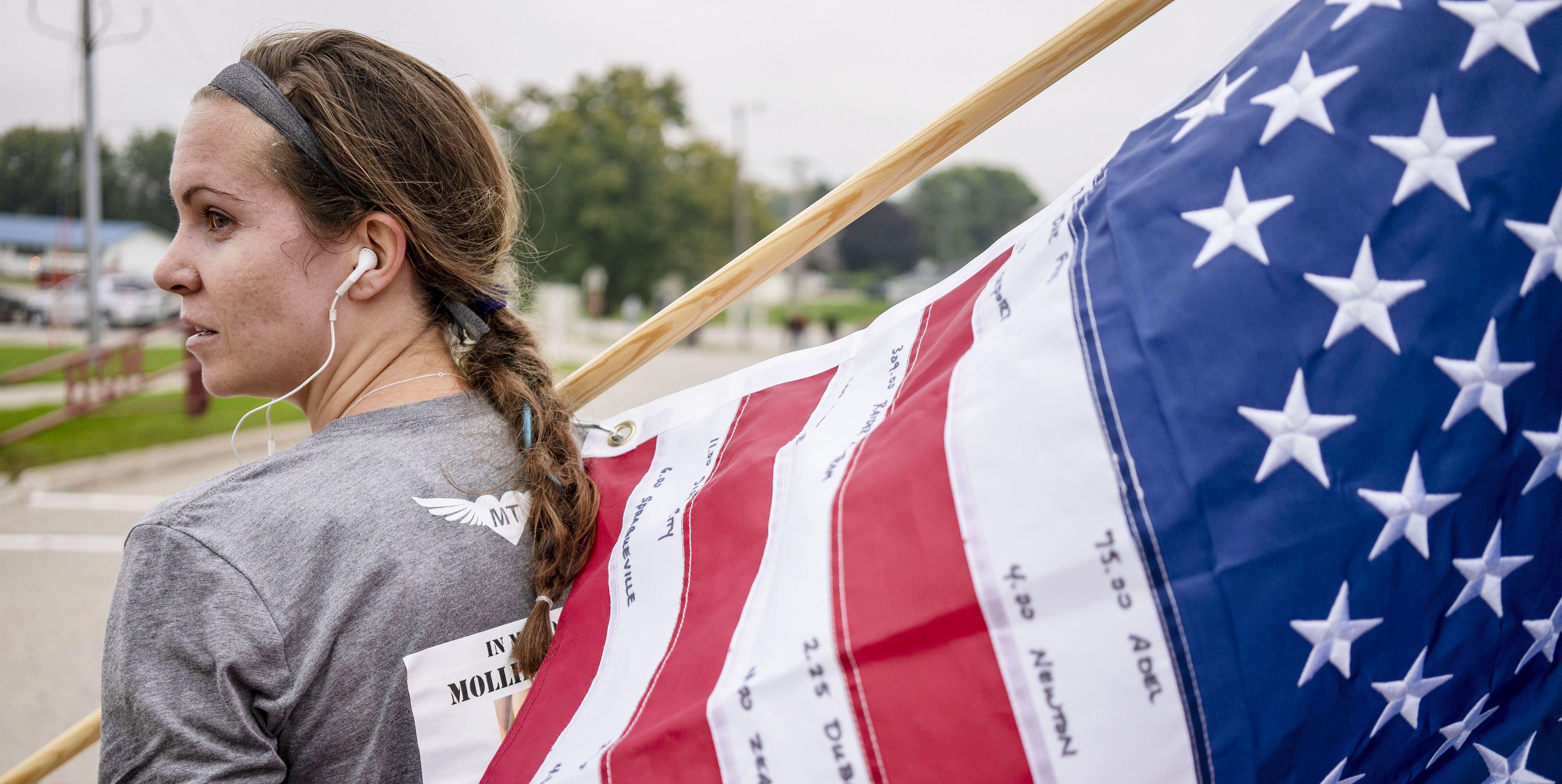 Mollie Tibbetts Memorial Run in Brooklyn, Iowa