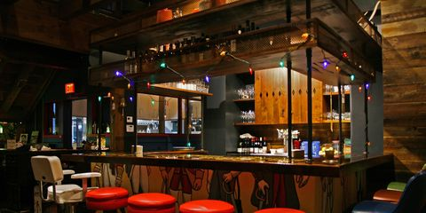 Bar, Drinking establishment, Pub, Building, Tavern, Café, Restaurant, Barware, Interior design, Table,