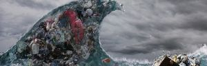 Tidal Wave Of Garbage And Pollution