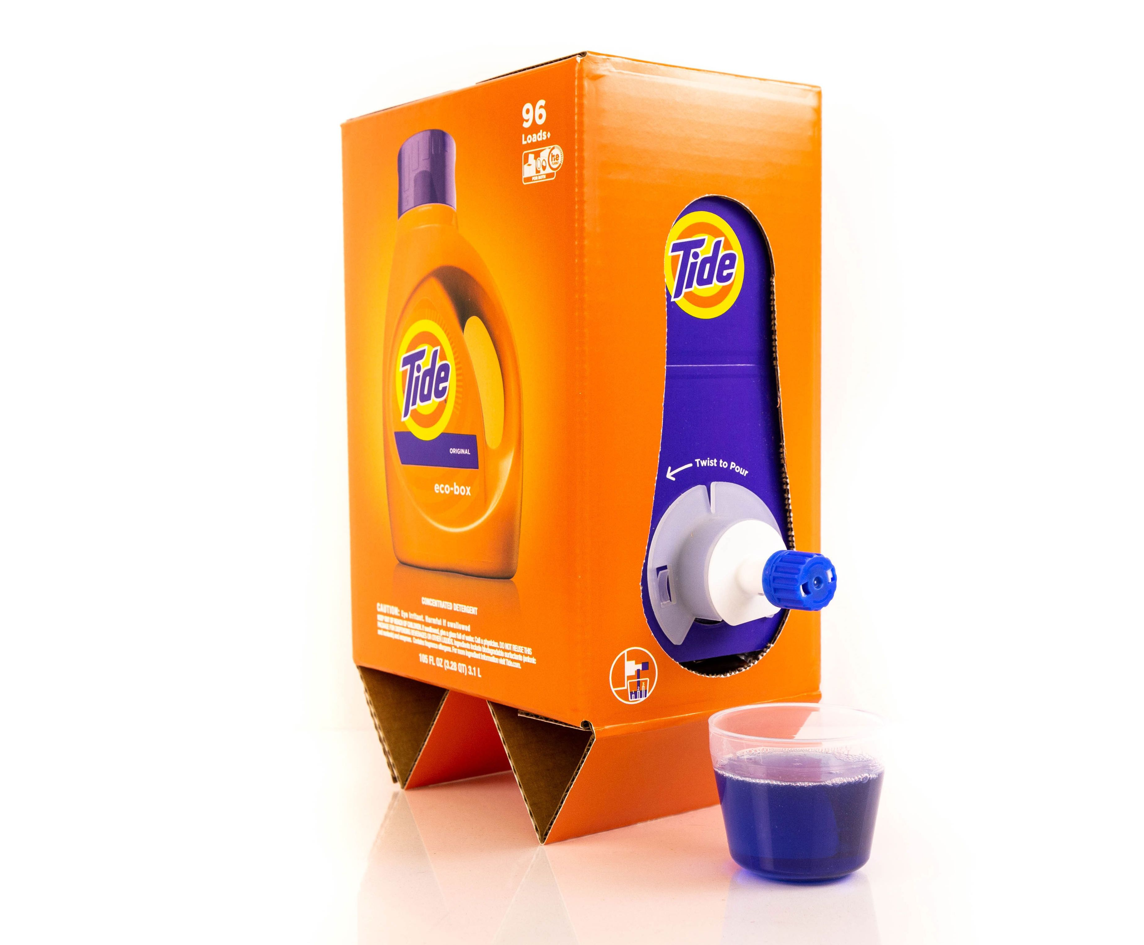 Tide's New Eco Box Totally Resembles Boxed Wine