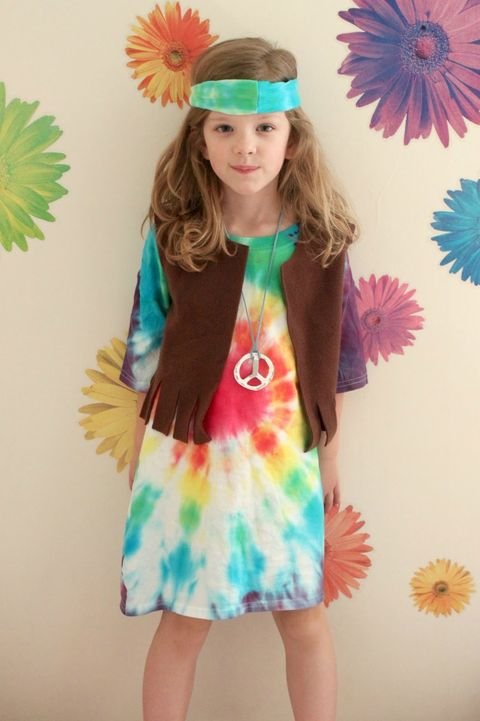 classic hippie costume for kids