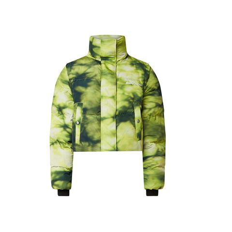 Tie-dye puffer daily paper