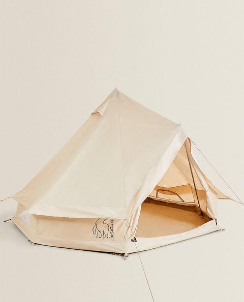 zara colección camping