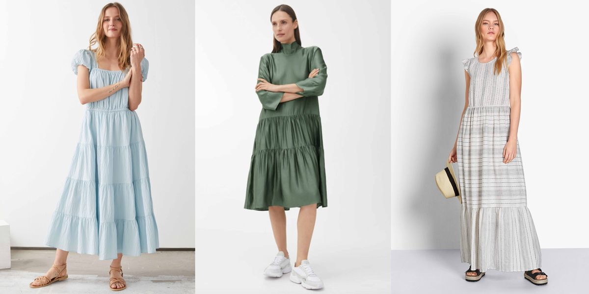 The tiered dresses perfect for summer