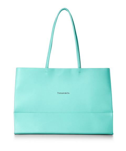 tiffany blue 藍色皮革包包